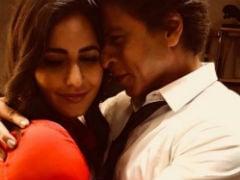 <i>Zero</i>: The Secret Ingredient In This Adorable Shah Rukh Khan, Katrina Kaif Photo Is Ice Cream