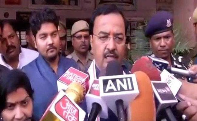 अलीगढ़ मुस्लिम यूनिवर्सिटी में तस्वीर विवाद: यूपी के डिप्टी सीएम केशव मौर्य बोले- जिन्ना देश के दुश्मन थे