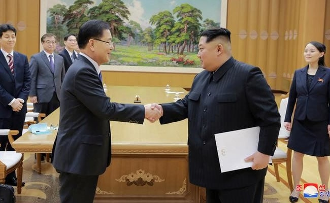 South Koreans Meet North Korean Leader Kim For Talks About Talks