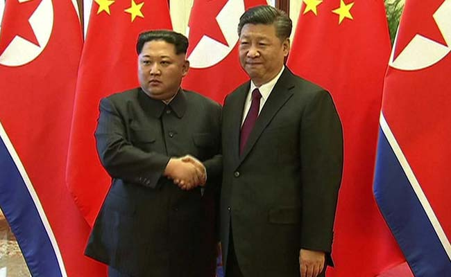 North Korean Leader Meets With China's President During 'Unofficial Visit' To Beijing