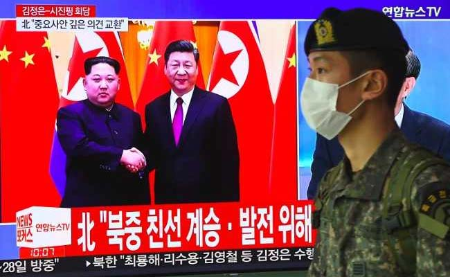 On 'Unofficial' Trip To China, North Korea's Kim Pledges Denuclearisation