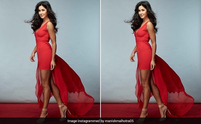 Katrina Kaif Reminds Us How Sensational a Red Dress Can Look