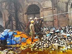 Fire In Illegal Chemical Warehouse Leaves Many Homeless In Kolkata