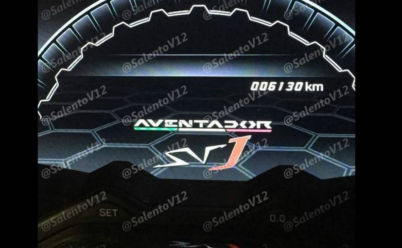 Lamborghini Aventador Svj Coming Soon Ndtv Carandbike