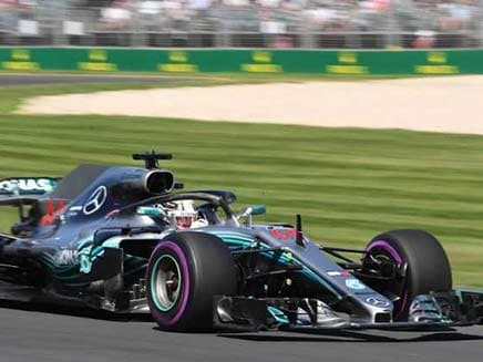Australian Grand Prix: Lewis Hamilton Leads Mercedes One-Two In Season