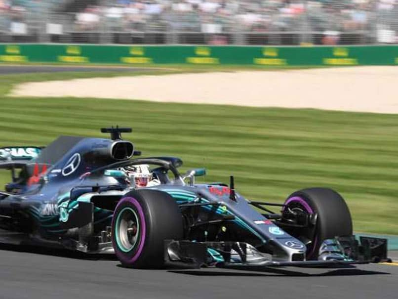 Hamilton leads Mercedes 1-2 in first practice