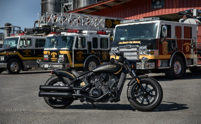 limited edition jack daniels indian scout bobber