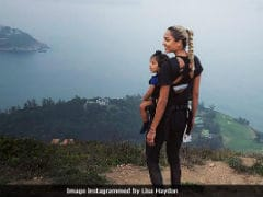 Travel Goals: Lisa Haydon And Son Zack Are Seeing The World, One Pic At A Time