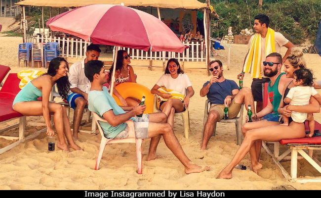 Lisa Haydon's Epiphany While On A Family Holiday In Goa