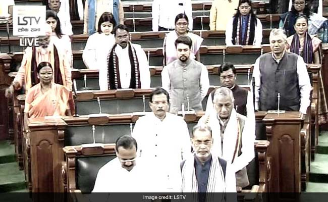 Protests Stall Parliament, Minutes After Budget Session Resumes: 10 Points