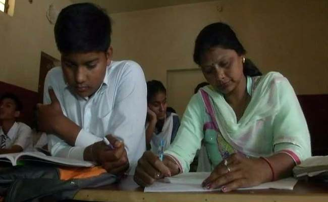 After Gap Of 29 Years, Woman Sits For Class 10 Exams - With Her Son