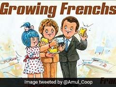 "After Emmanuel Macron's India Trip, Amul Cheers ""Growing Frenchship"""
