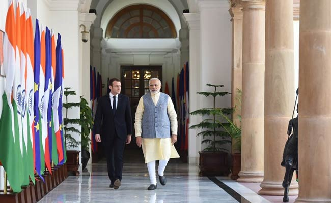 India, France Sign Key Security Deal With An Eye On China