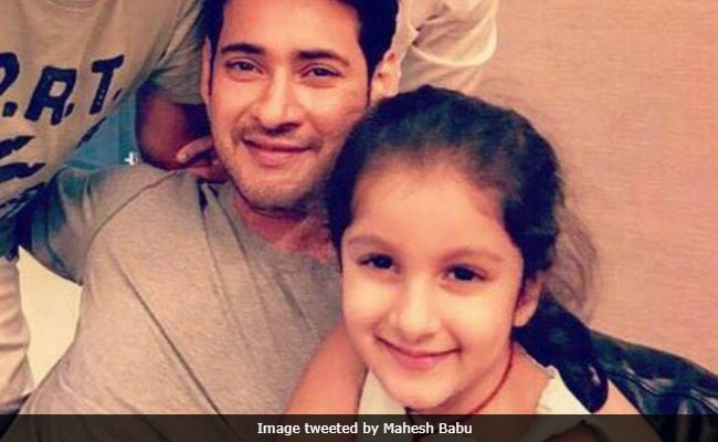 Mahesh Babu Thinks Daughter Sitara Looks Like Her