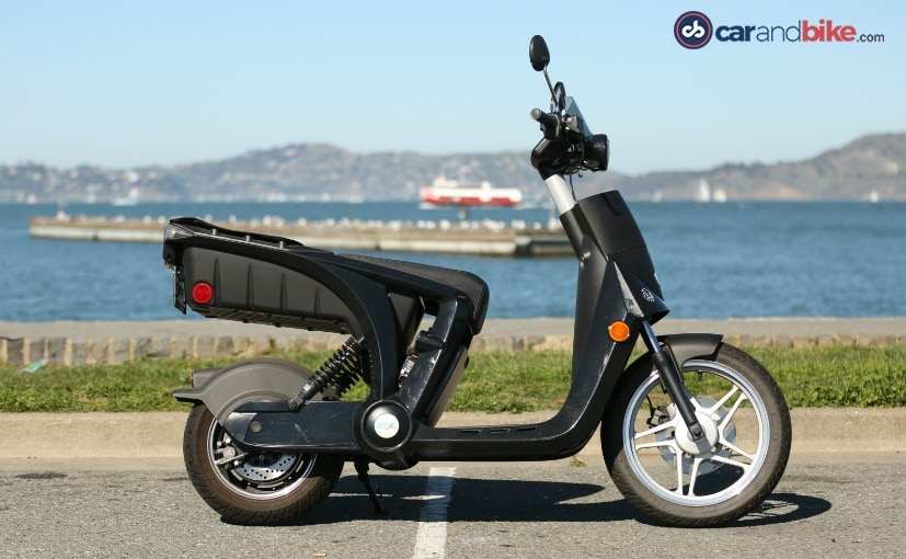 mahindra genze electric scooter profile