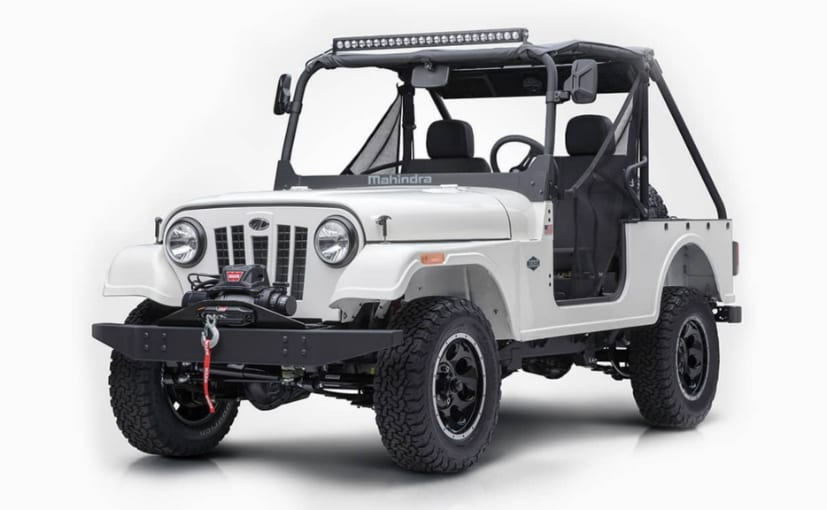 Mahindra Roxor Suv All You Need To Know Ndtv Carandbike
