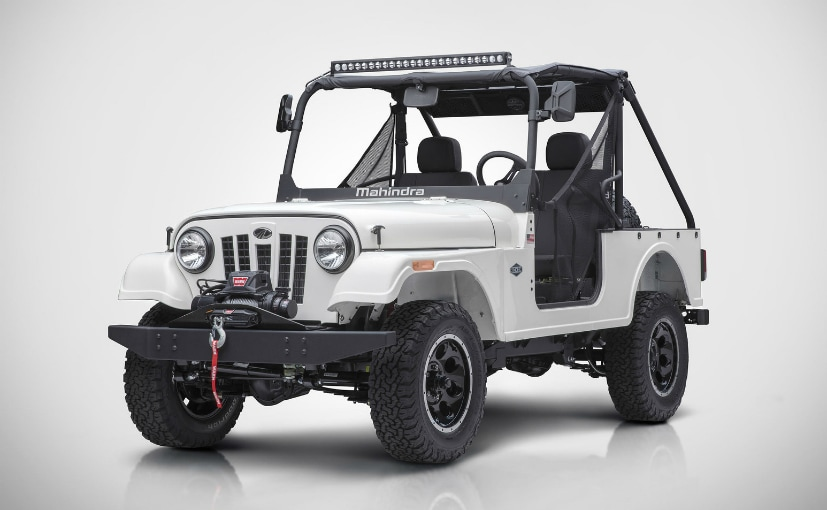 Mahindra Roxor Off-Road Vehicle Unveiled In The United States