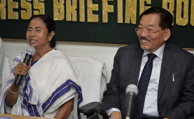 'All Misunderstandings Over': Mamata Banerjee, Pawan Chamling End Row