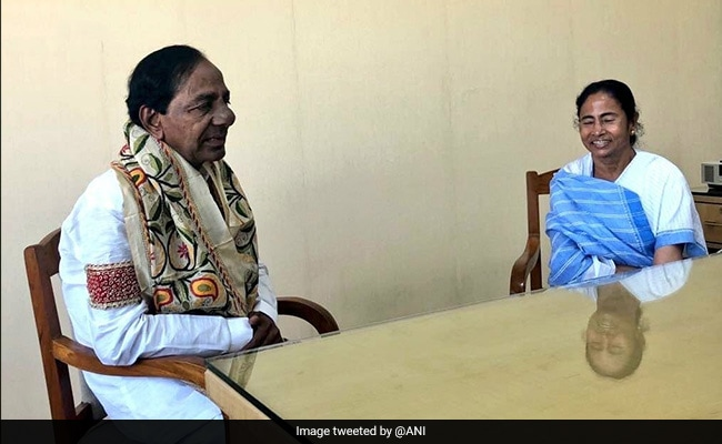 'Federal Front In Making': Telangana's KCR After Meeting Mamata Banerjee