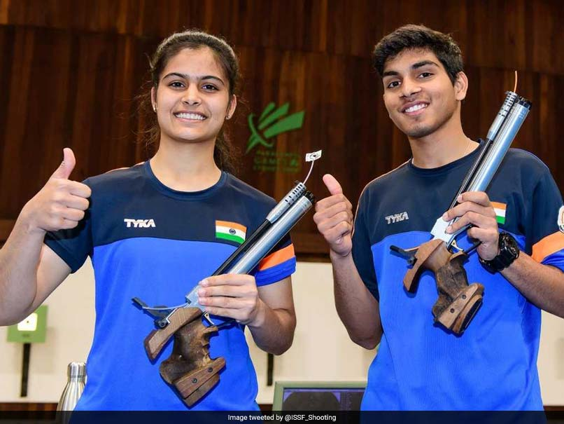 ISSF Junior World Cup: Manu Bhaker-Anmol Win Air Pistol Mixed Gold
