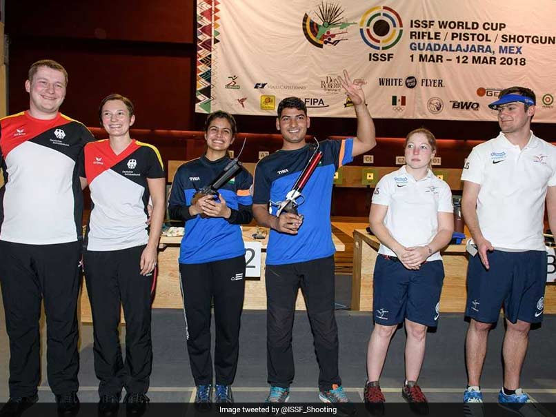 ISSF World Cup: Sensational Manu Bhaker Strikes Successive Second Gold