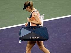 Maria Sharapova Crashes Out Of Indian Wells