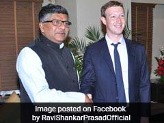 """Can Summon You"": Law Minister Ravi Shankar Prasad's Stern Message To Mark Zuckerberg"
