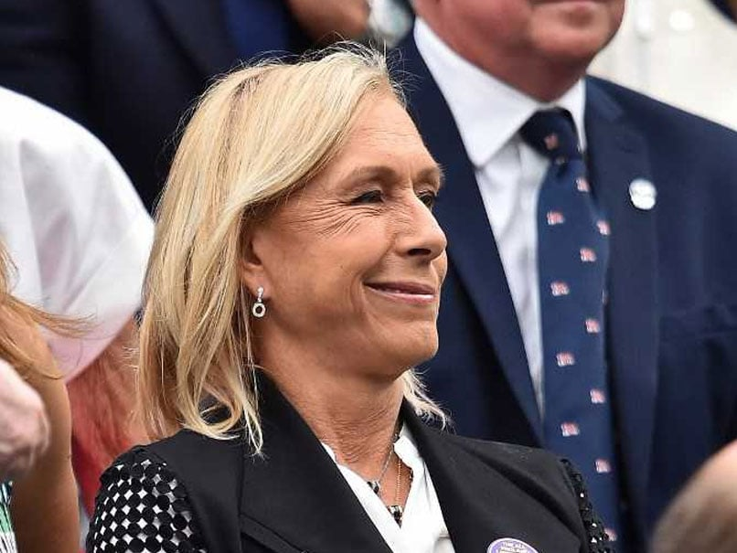 Tennis Great Martina Navratilova Slams BBC Over Wimbledon Pay