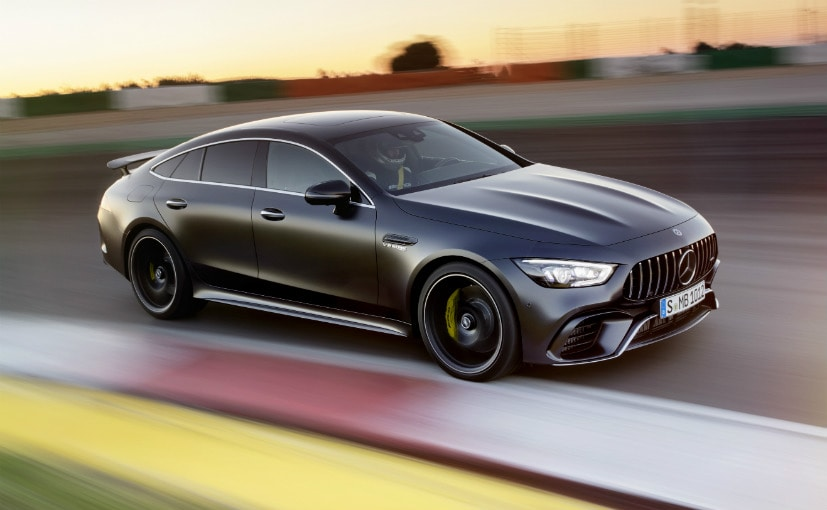 Geneva 2018 mercedes amg gt 4 door coupe breaks cover for 2018 mercedes benz amg gt