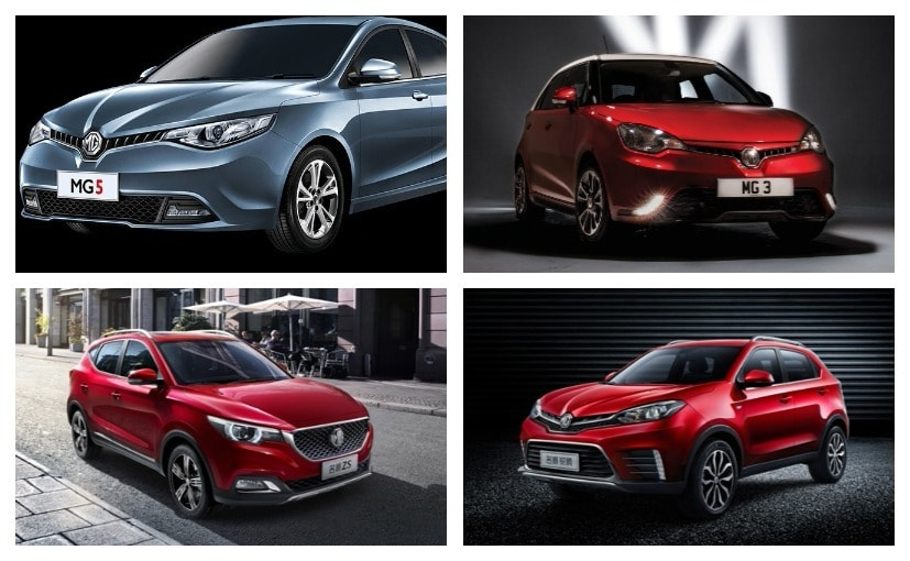 Here is some of the probable cars that MG could launch in India in the near future