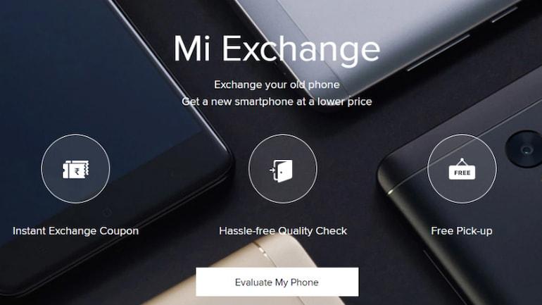 शाओमी का एक्सचेंज ऑफर अब वेबसाइट पर भी, पुराना फोन देकर खरीदें नया स्मार्टफोन