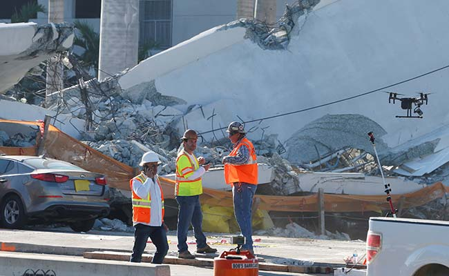 Engineer Reported Cracks In Miami Bridge Before Fatal Collapse