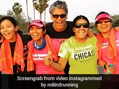 Milind Soman And Ankita Konwar's Mid-Marathon Meal Pick- Idlis And Dosa!