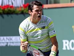 Indian Wells: Milos Raonic Books Semi-Final Showdown With Juan Martin Del Potro
