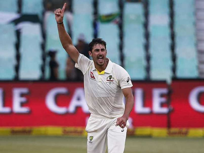 1st Test: Mitchell Starc