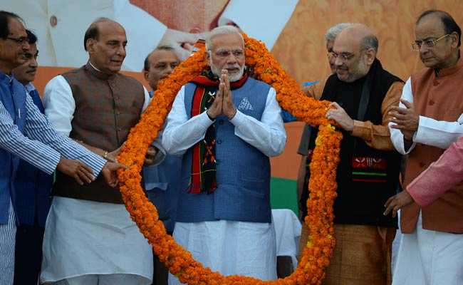 Frustrated opposition spreading lies against govt: PM Narendra Modi