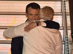 France's Emmanuel Macron In India, Gets PM Modi's Hug: 10 Points