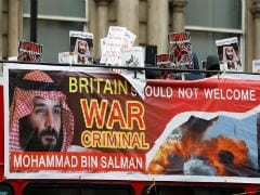 Royal Welcome And Noisy Protests Await Saudi Crown Prince On UK Trip