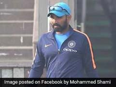 No Decision On Mohammed Shami