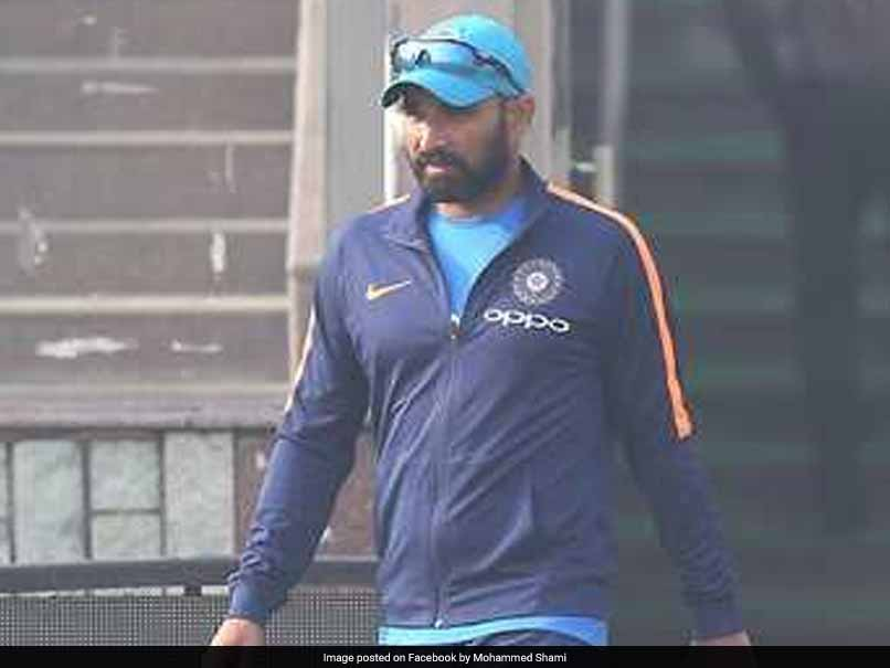 Mohammed Shami Involved In Road Accident, Suffers Head Injury