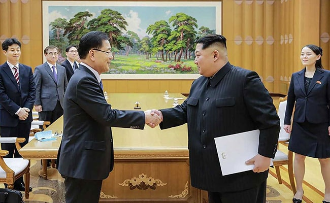 Hopes For Peace As Kim Jong-Un Takes Historic Step To Inter-Korean Summit