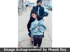 Mouni Roy's Pic Of Herself In Wheelchair Prompts Concerned Comments