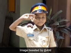 7-Year-Old Cancer Patient Was Cop For A Day, Thanks To Mumbai Police