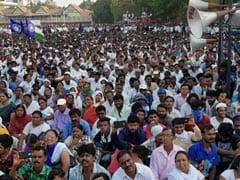 Prakash Ambedkar Leads Rally To Seek Arrest Of Bhima-Koregaon Violence Accused