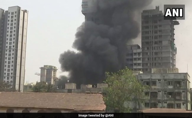 Fire At Metal Warehouse In Mumbai, No Casualty Reported