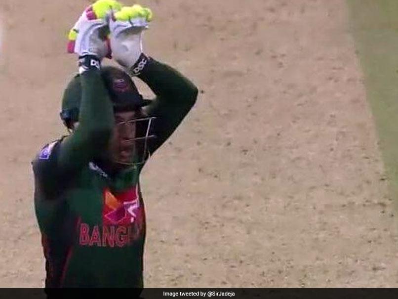 Watch: Mushfiqur Rahim Celebrates Bangladesh