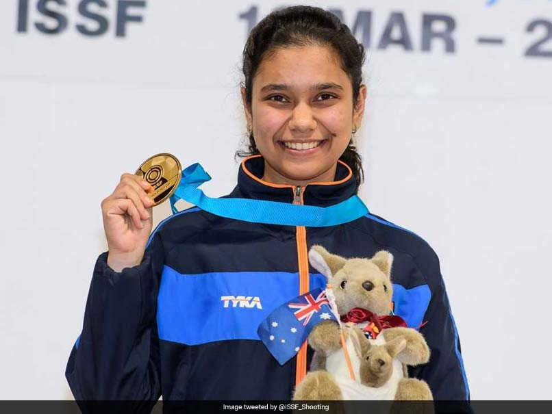 ISSF Junior World Cup: Muskan Bhanwala Bags Gold In 25m Pistol Event