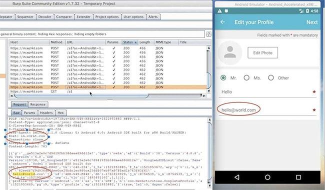narendra modi app data