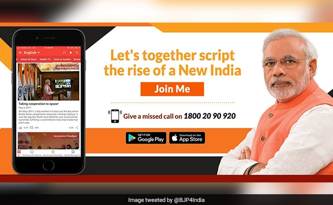 US-Based Firm Says It Doesn't 'Sell, Rent' Data After Row Over NaMo App