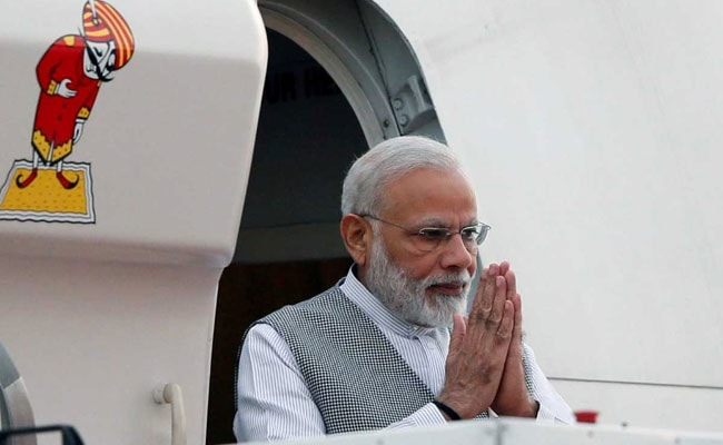 PM Modi Takes Charge Of Civil Aviation Ministry